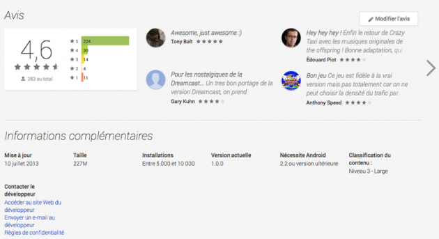 android google play web juillet july 2013 10