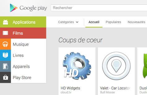 android google play web juillet july 2013 2