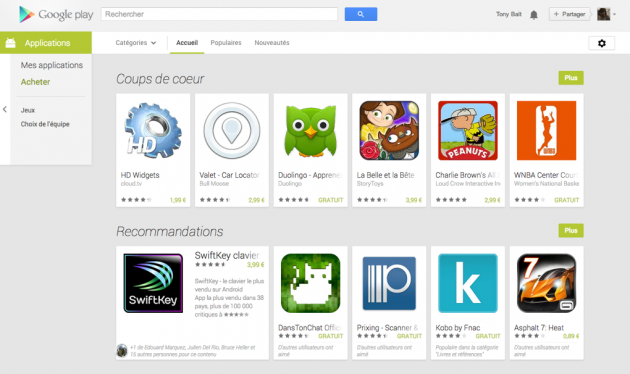 android google play web juillet july 2013 3