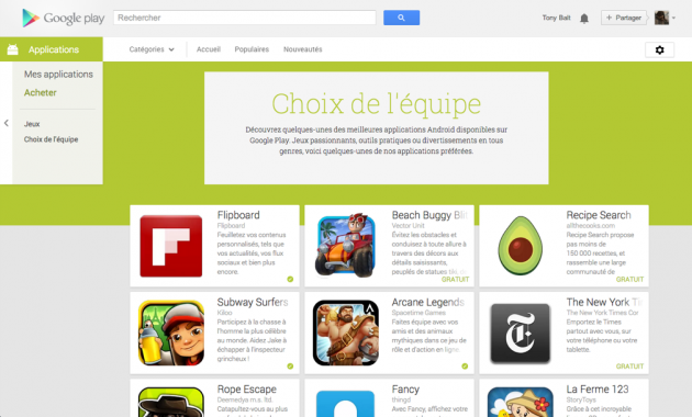 android google play web juillet july 2013 6