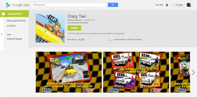 android google play web juillet july 2013 8