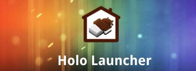 android holo launcher bannière