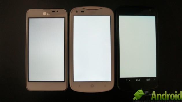 android lg optimus qualité écran image 1