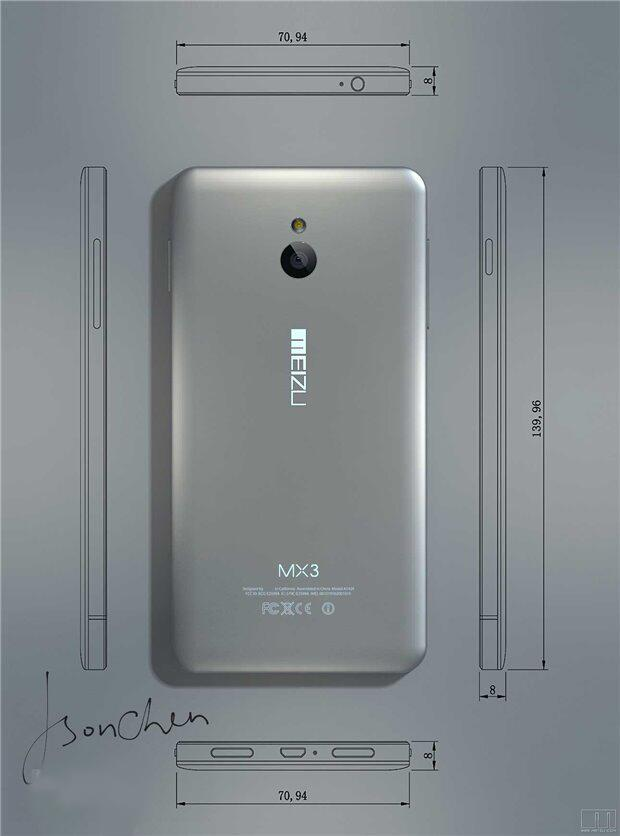 android meizu mx3 back dos 2