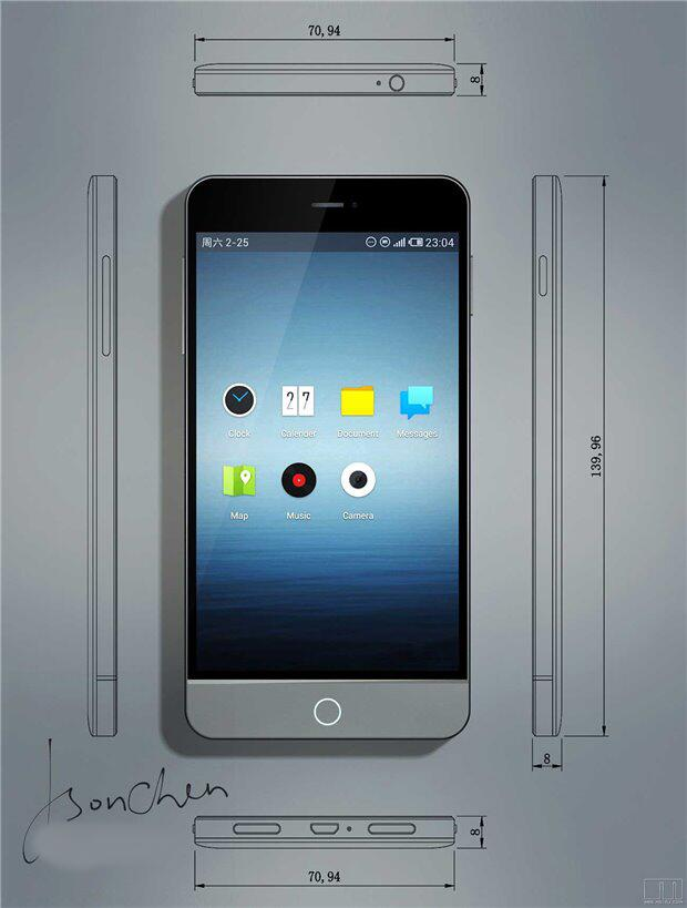 android meizu mx3 face 1