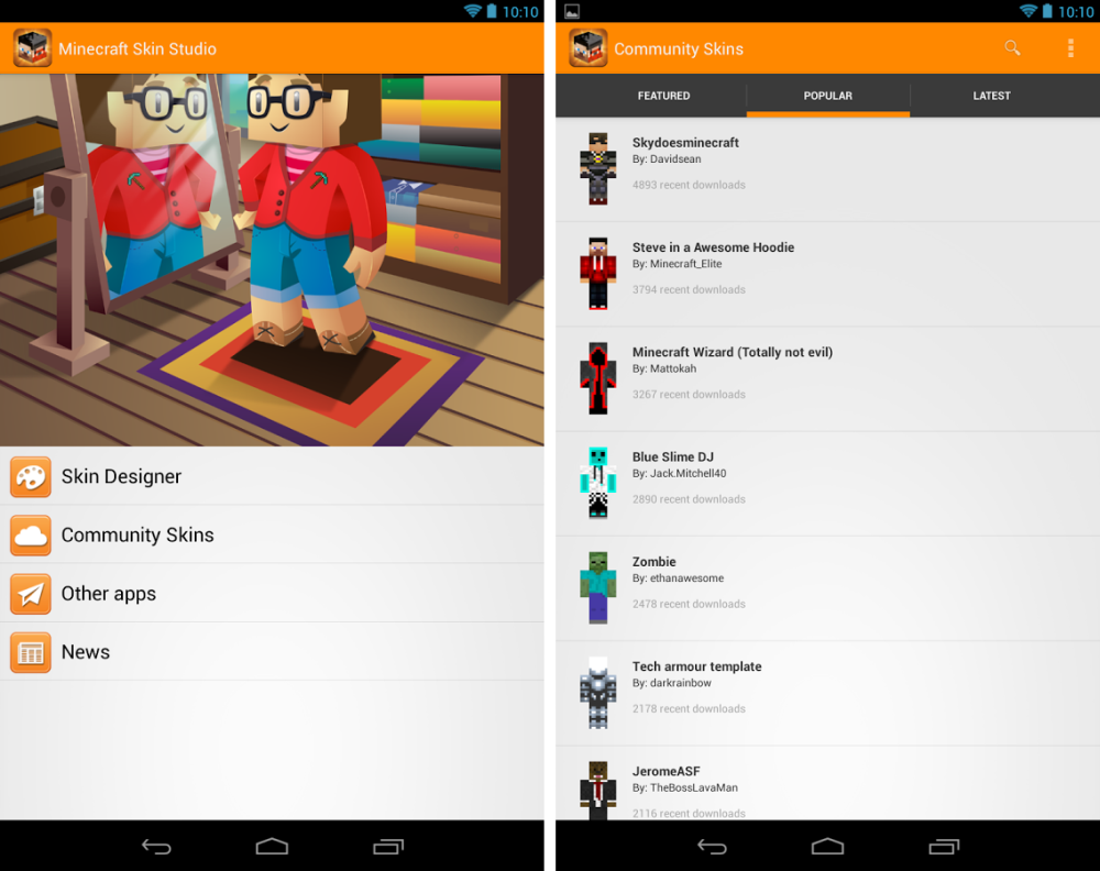 android minecraft skin studio images 1