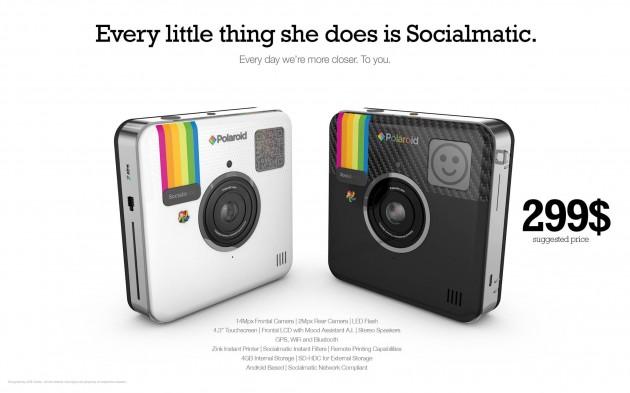android polaroid socialmatic image 0