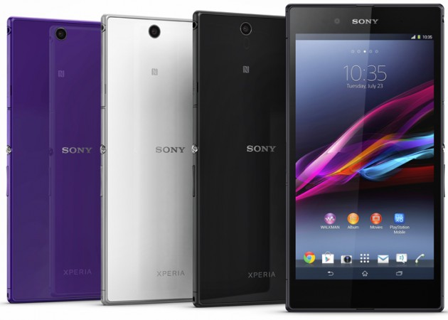 android sony xperia z ultra video officielle
