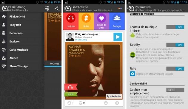 android soundwave réseau social musique images 0