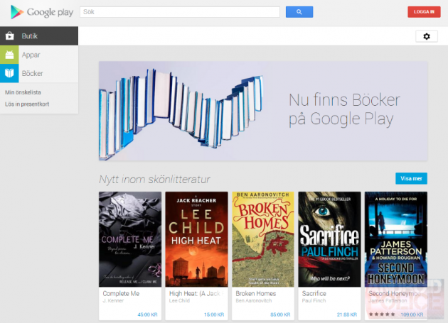android sweden suède google play livres play books 1