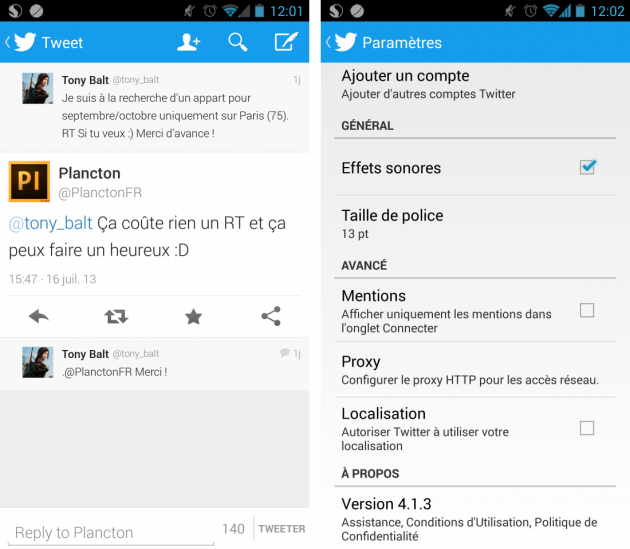 android twitter 4.1.3 ios