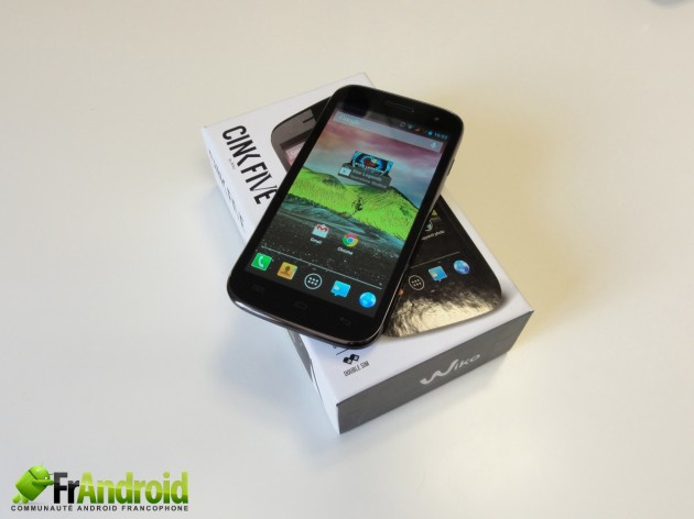 android wiko cink five 1