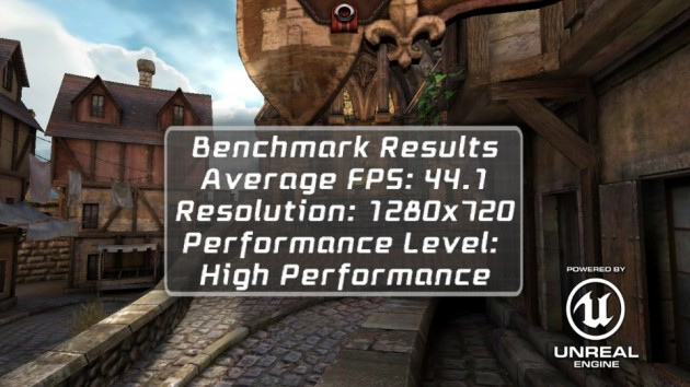 android wiko cink five benchmark epic citadel 0