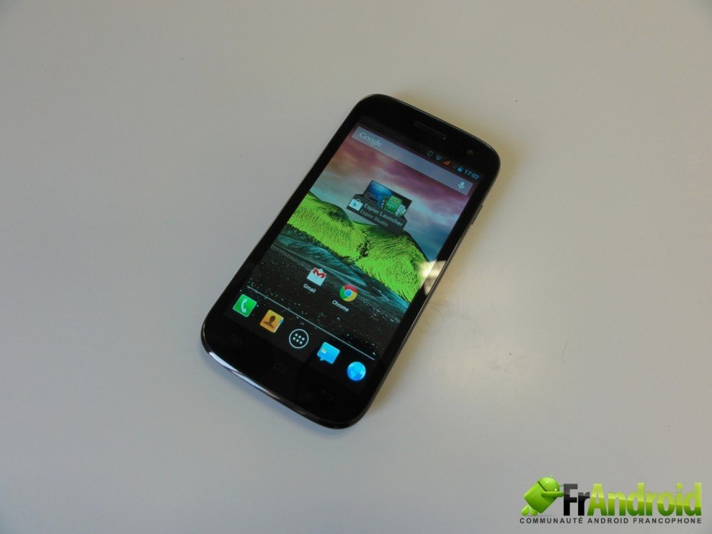 android wiko cink five  prise en main 1