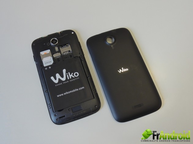 android wiko cink five  prise en main 10