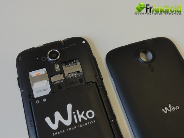android wiko cink five  prise en main 11