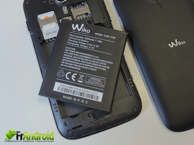 android wiko cink five  prise en main 12