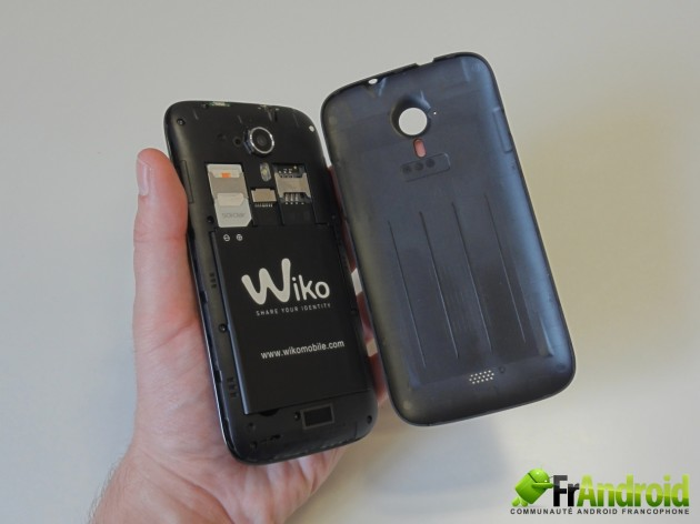 android wiko cink five  prise en main 9