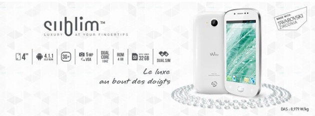 android wiko sublim luxury