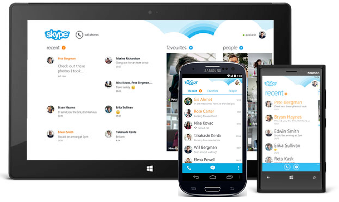 Skype 4.0 pour Android