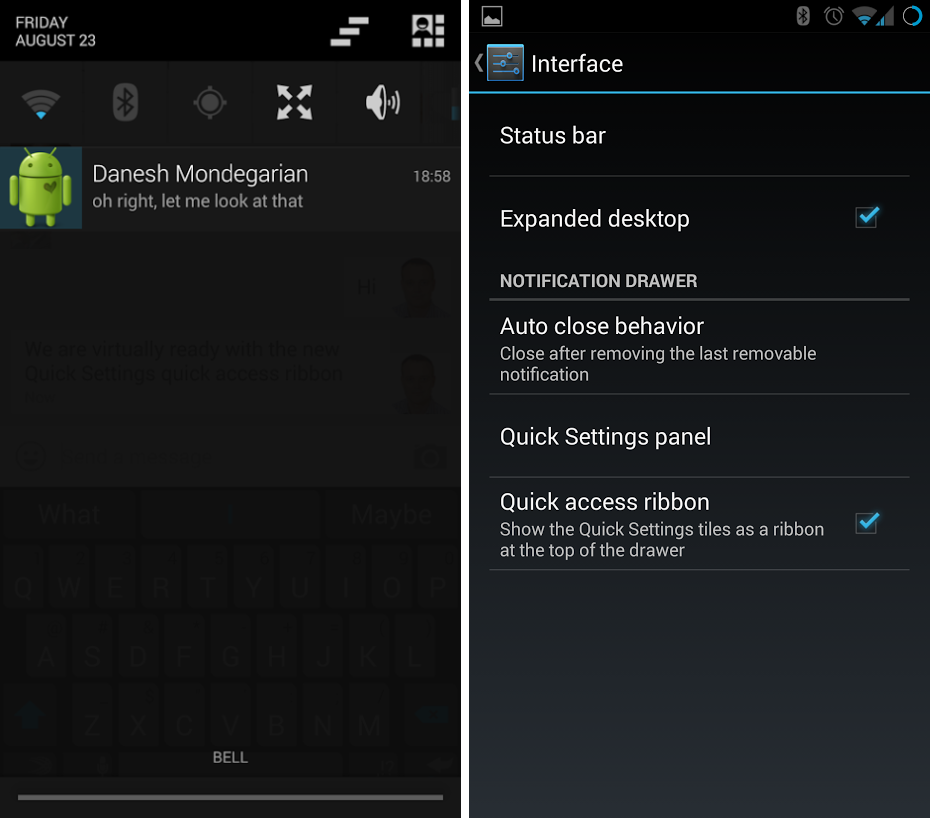 Android-CyanogenMod-Quick Settings Re-write 00