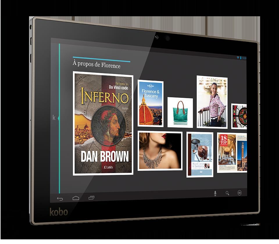 kobo revient avec 3 nouvelles tablettes les arc 7 arc 7hd et arc 10hd frandroid. Black Bedroom Furniture Sets. Home Design Ideas