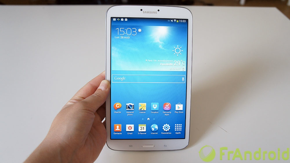 marques samsung  test galaxy tab