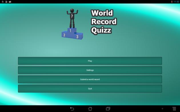 World Record Quizz