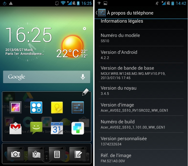 android 4.2.2 jelly bean acer liquid s1 image 0