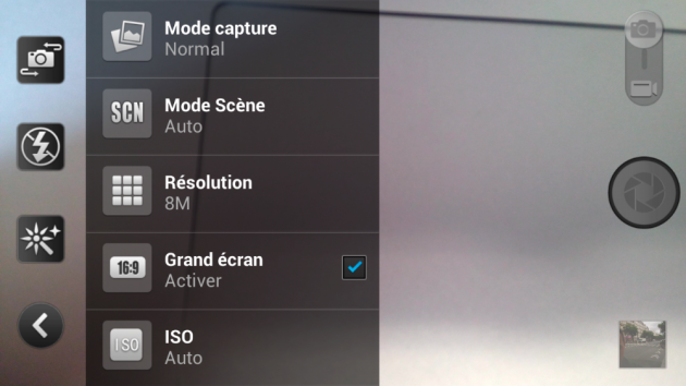 android acer liquid s1 logiciel caméra appareil photo