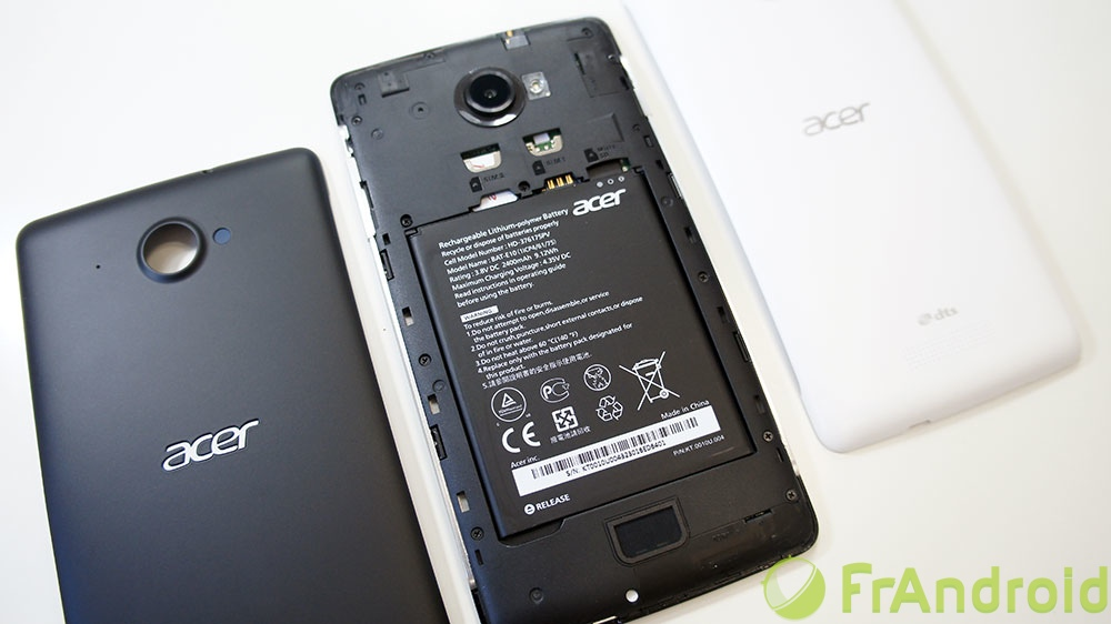 Telephone Acer Android Android Acer Liquid s1 Prise