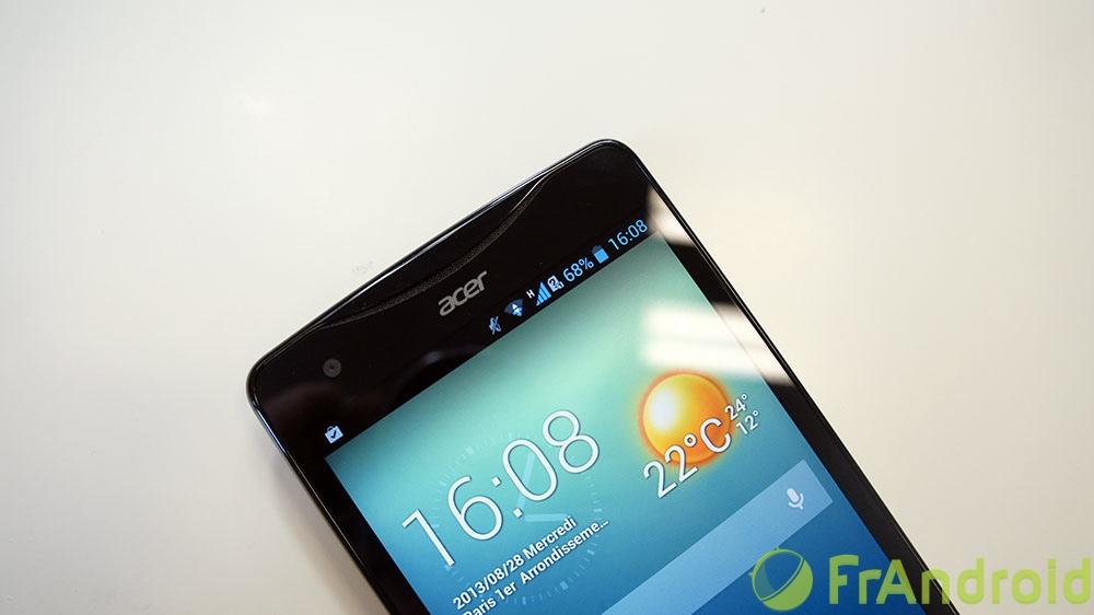 android acer liquid s1 prise en main 3