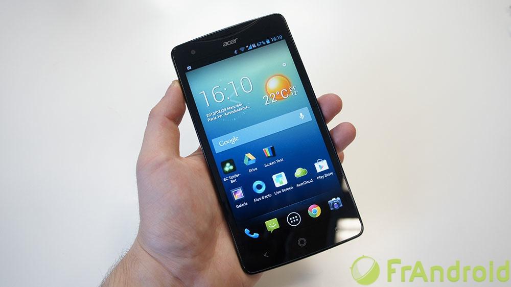 android acer liquid s1 prise en main 5