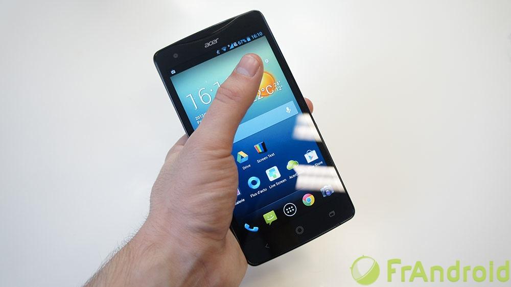 android acer liquid s1 prise en main 6
