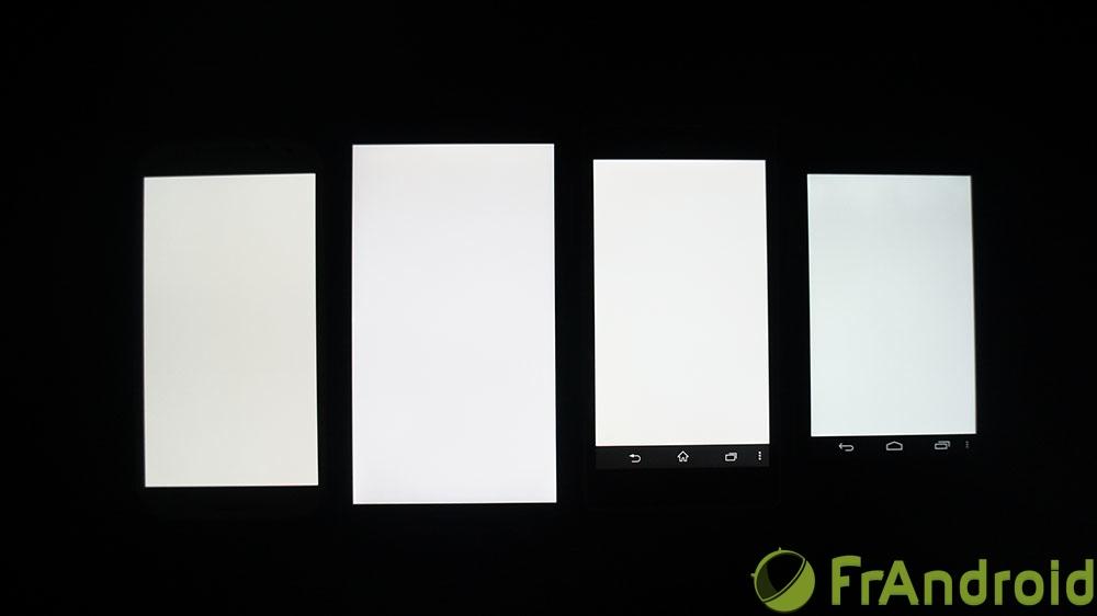 android acer liquid s1 qualité écran blanc