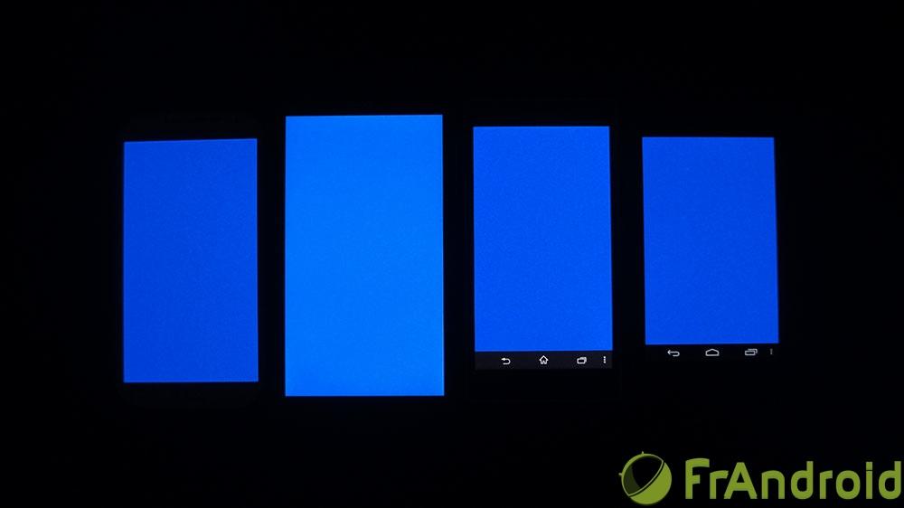 android acer liquid s1 qualité écran bleu