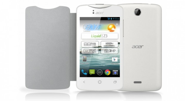 android acer liquid z3