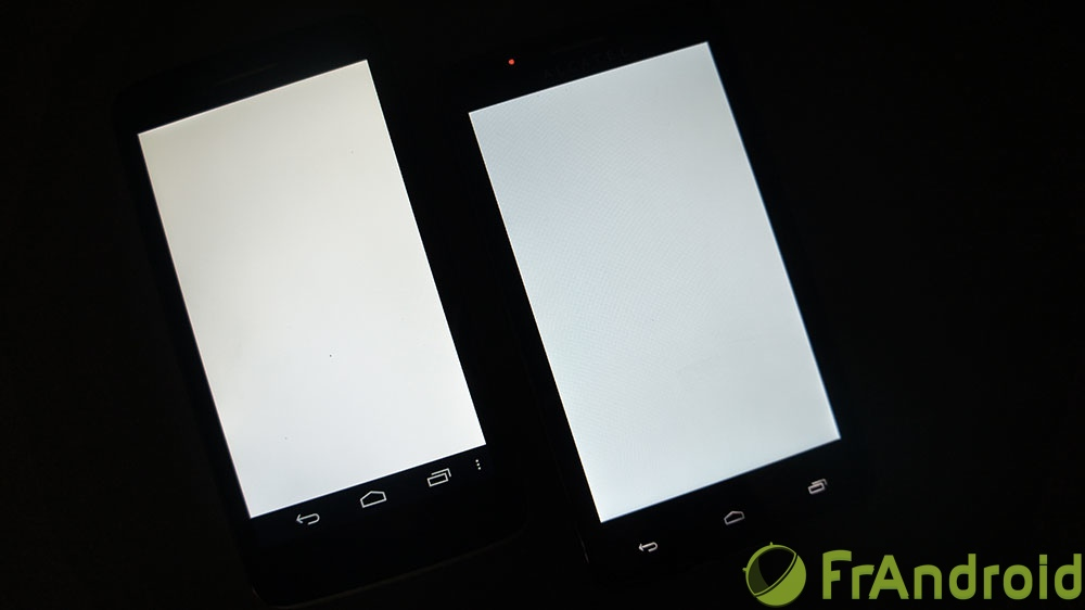 android alcatel one touch scribe hd easy comparatif qualité écran image 1