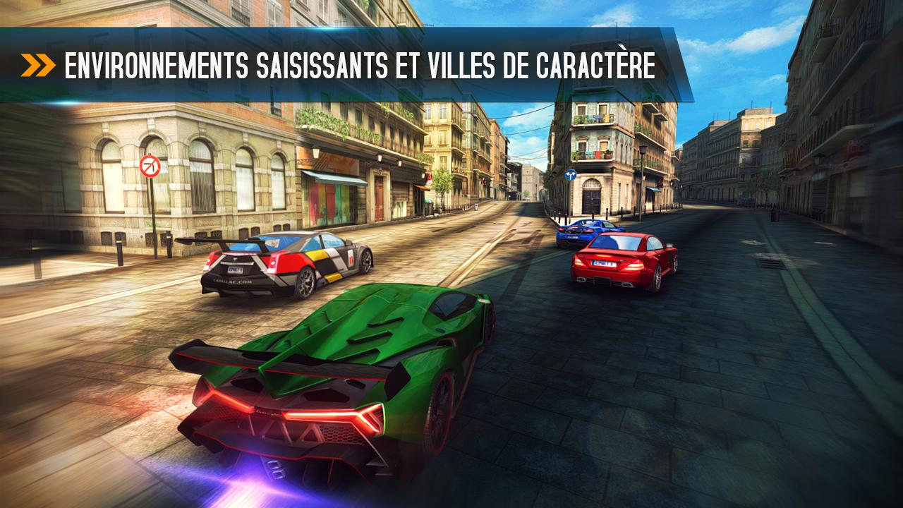 asphalt 8 airborne le jeu de course de gameloft est arriv sur le play store. Black Bedroom Furniture Sets. Home Design Ideas
