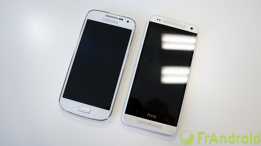 android galaxy s4 mini comparaison htc one mini 4