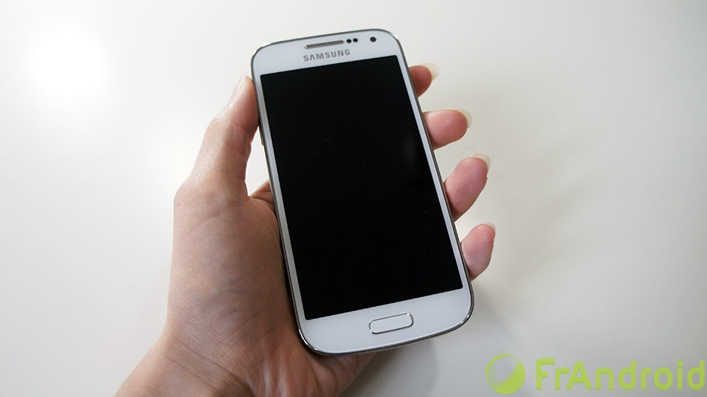 android galaxy s4 mini prise en main 1