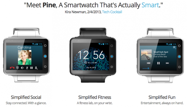 android neptune pine smartwatch