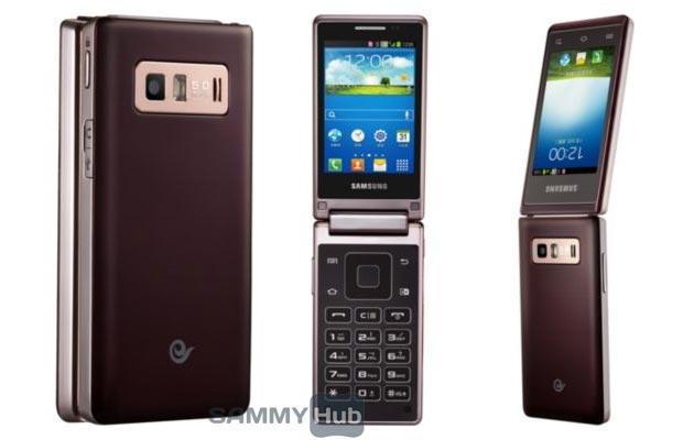 android samsung galaxy folder sch-w789 image 1