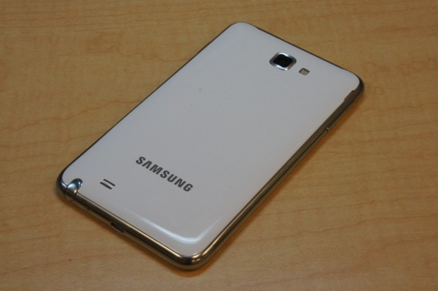 android samsung galaxy note back