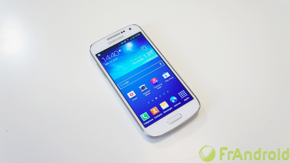 android samsung galaxy s4 mini prise en main 00