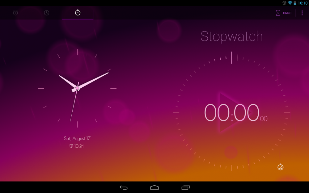 android timely alarm clock image 1