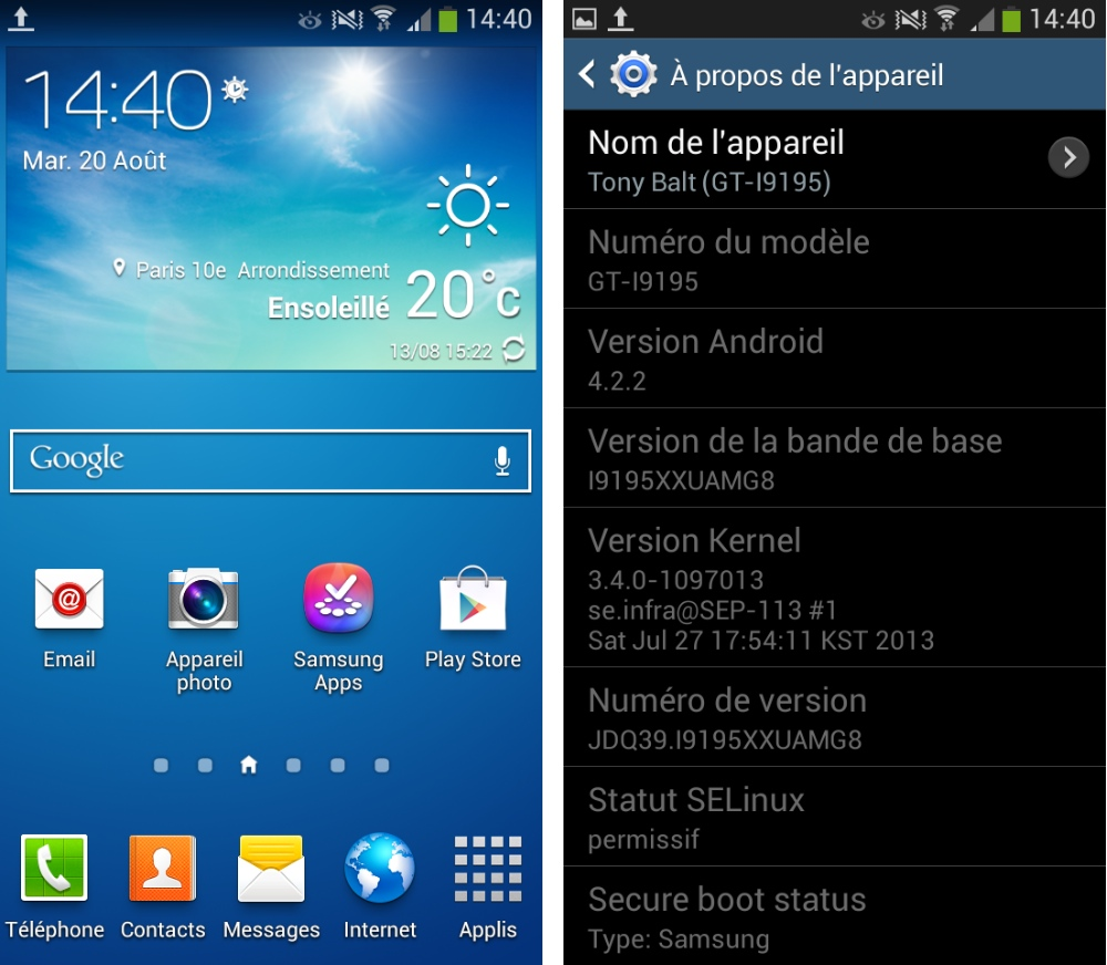 version android samsung galaxy s4 mini logiciel 01