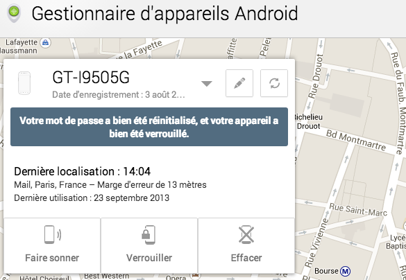 0 android device manager septembre september 2013