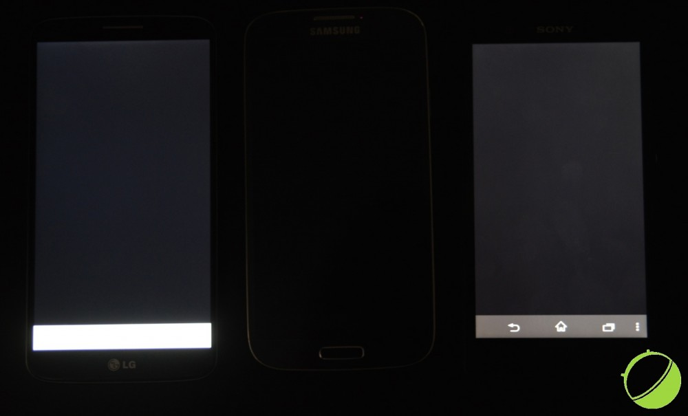 LG G2 vs Samsung Galaxy S4 vs Sony Xperia Z