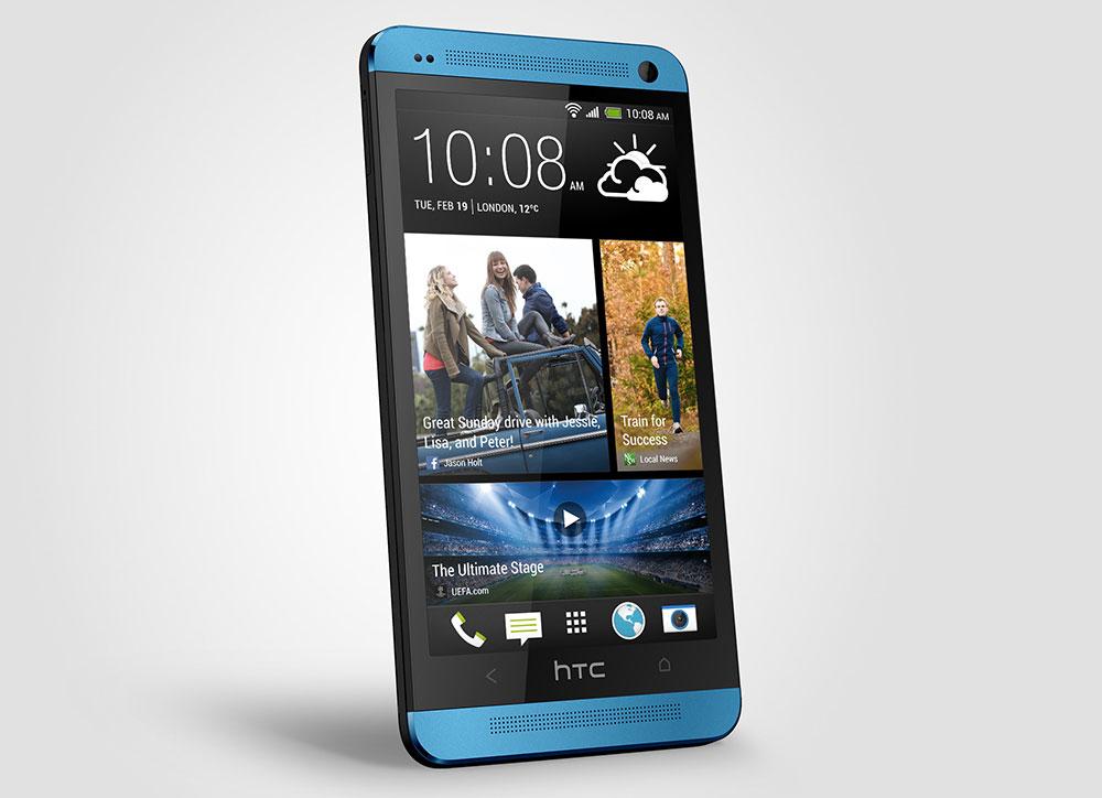 HTC One Vivid Blue